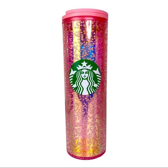 2020 Starbucks Pink Bubble Champagne 16 oz Tumbler